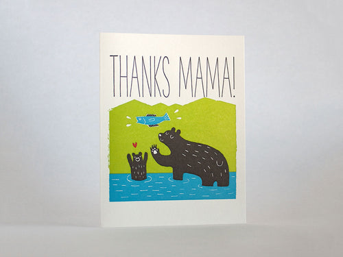 Thanks Mama Bear, Single Card