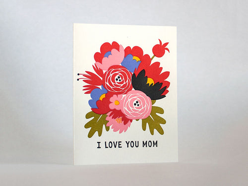 I Love You Mom, Single Card