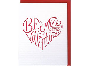 Be Mine Dear Valentine, Single Card