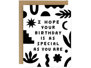 Birthday Special, Single Card