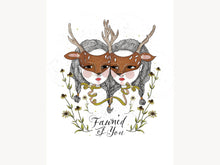 "Fawn'd of You, Art Print 8"" x 10"""