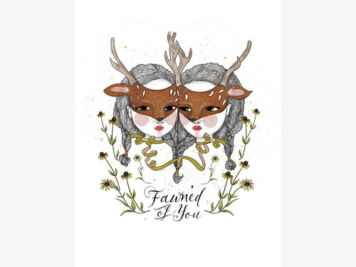 Fawn'd of You, Art Print 8