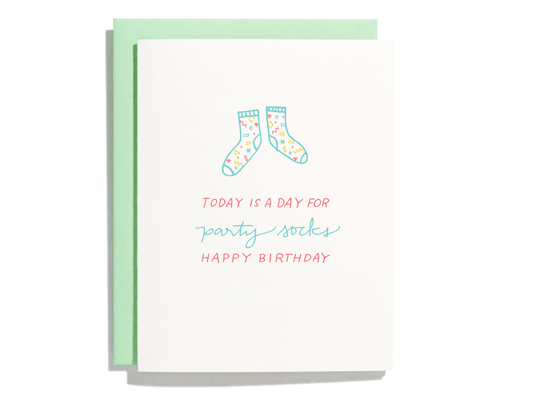 Party Socks, Single Card