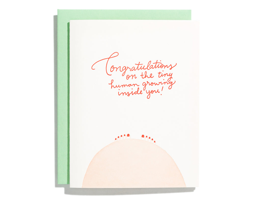 Congrats Tiny Human, Single Card