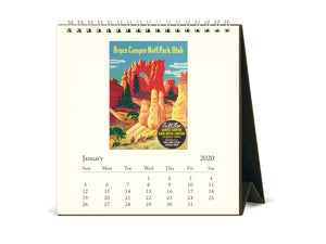 Desk Calendar National Parks