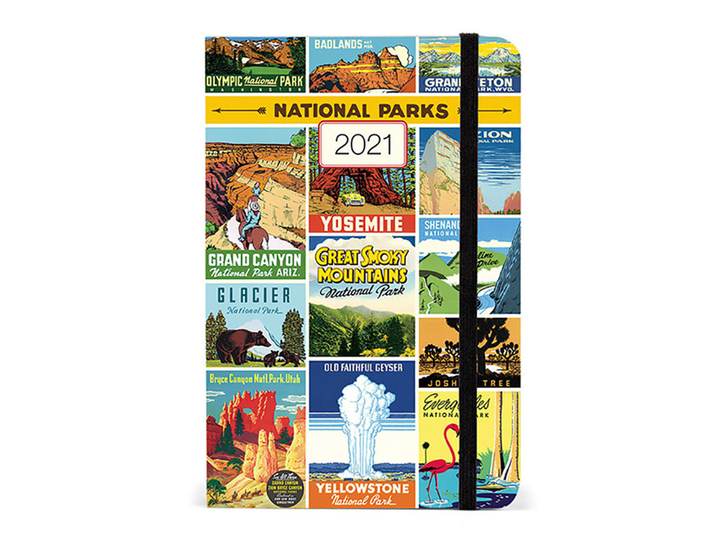 2021 Weekly Planner Small - National Parks