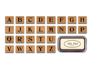 Rubber Stamps, Alphabet
