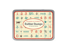 Rubber Stamps, Numbers