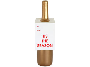 Tis The Season, Wine & Spirit Tag