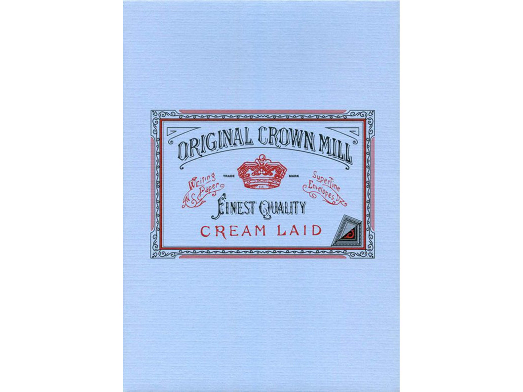 Original Crown Mill Classic Laid Pad, Blue