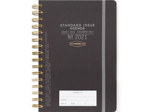 17-Month Hardcover Planner