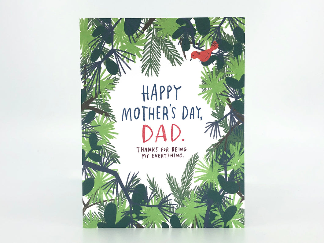 Happy Mother's Day Dad, Single Card