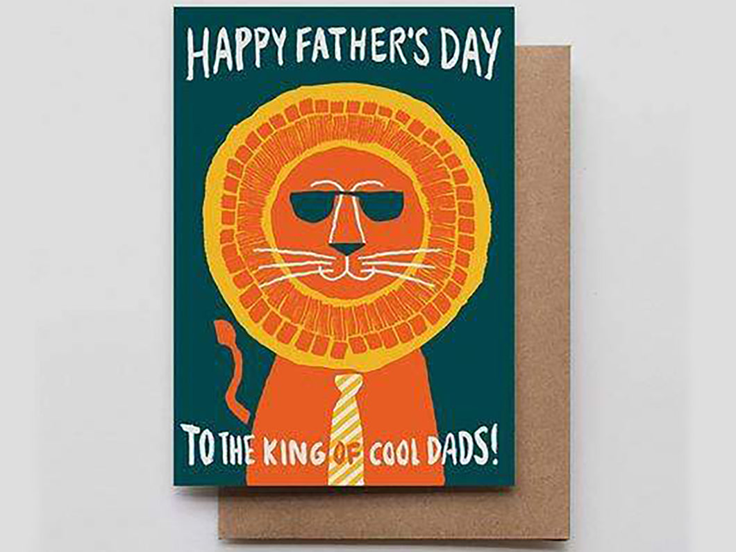 Father's Day Lion, Single Card