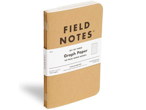 Original Kraft 3-Pack, Graph Notebook