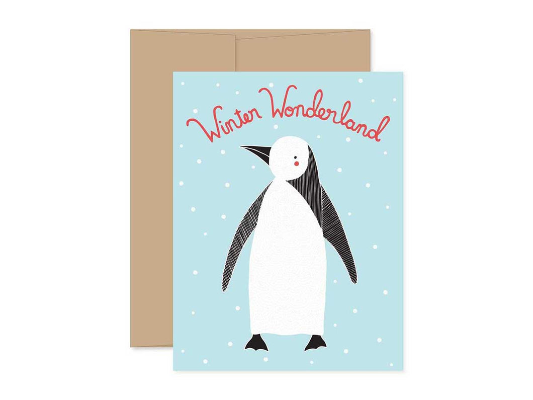 Winter Wonderland Christmas Card, Boxed Set of 8