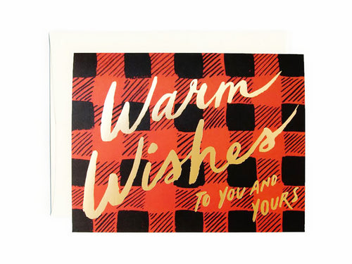 Buffalo Plaid, Single Card