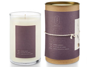 Cypress Lavender Natural Glass Candle