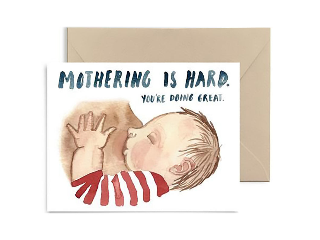 Mothering is Hard, Single Card