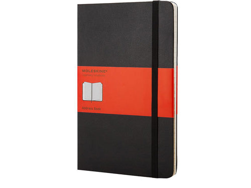 Moleskine Address Book, Black