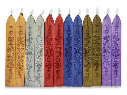 Sealing Wax with Wick, Various Colors