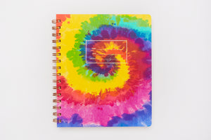 Standard Notebook, Lined, Tie Dye Cover