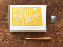 Greetings from North Dakota Card