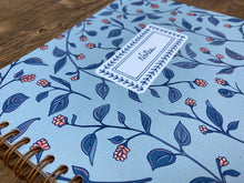 Blue Floral Notebook