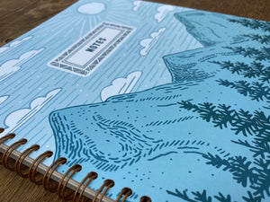 Mountains & Pines Notebook