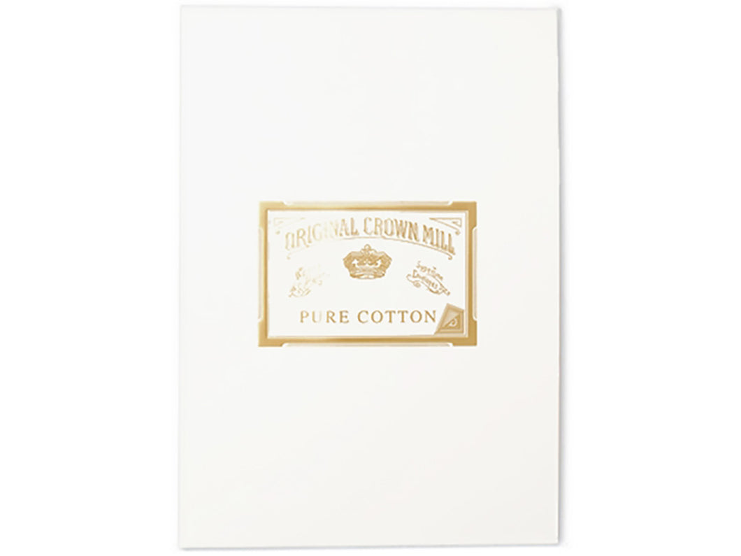 Original Crown Mill Pure Cotton Letter A4 Pad