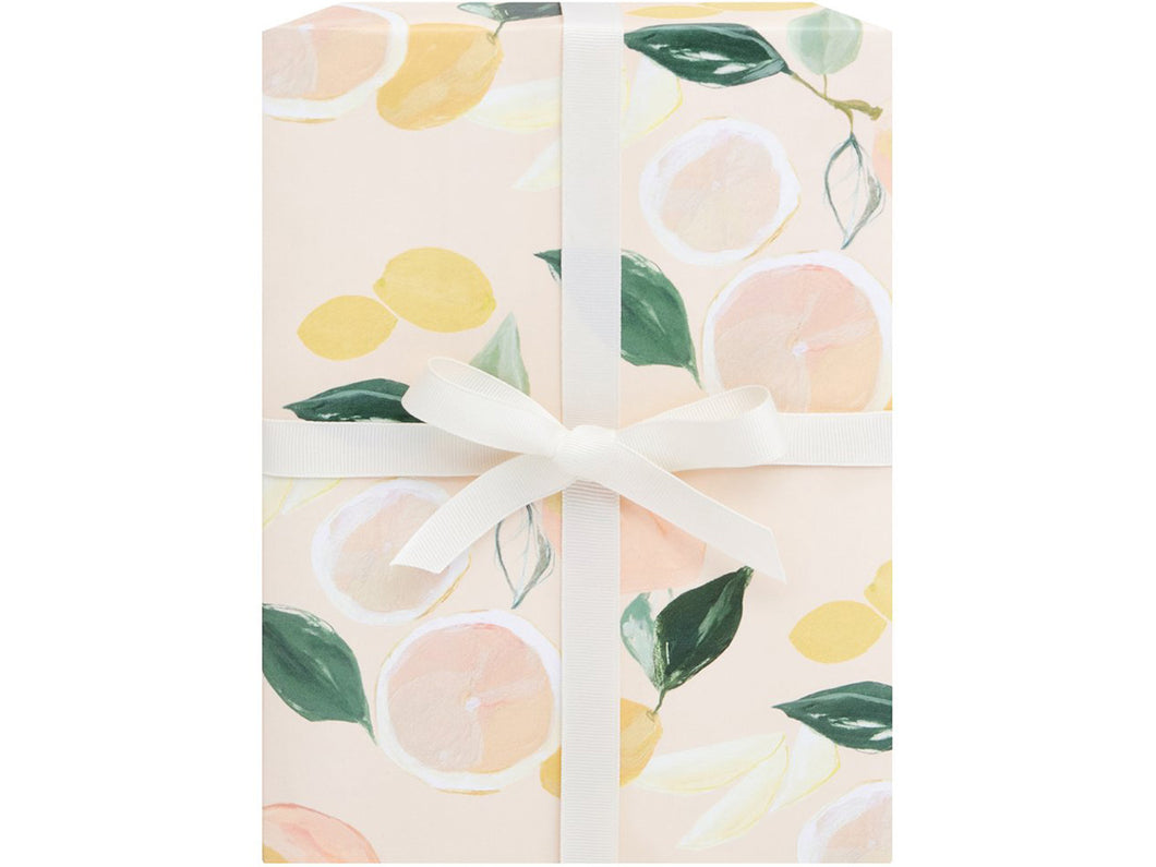 Citrus Gift Wrap Sheet