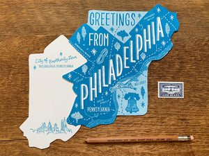 Greetings from Philadelphia Postcard