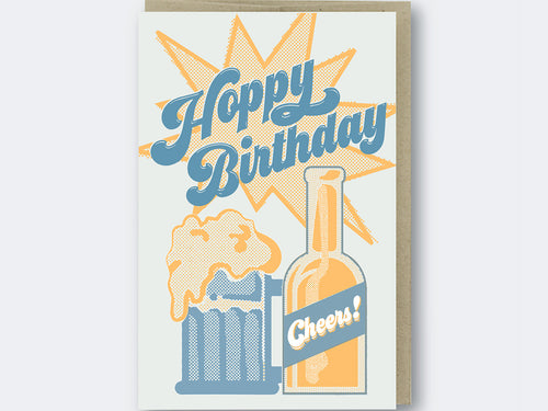Hoppy Birthday, Single Card