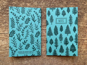 Trees & Leaves Pocket Notebook Set