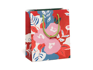 Ruby Red Flower, Small Gift Bag