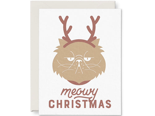 Meowy Christmas, Single Card