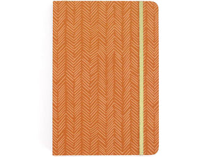 Rust Herringbone Sketchbook