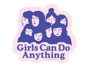 Girls Can, Sticker