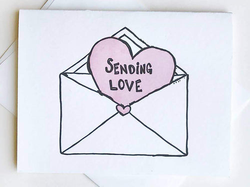 Love Envelope, Single Card