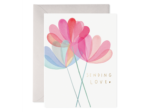 Sending Love, Single Card