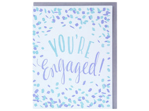 Confetti Engagement, Single Card