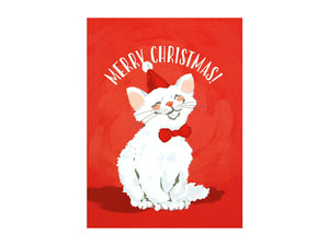 Merry Cat Christmas, Boxed Set of 10