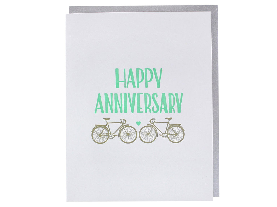 Two Bikes Anniversary, Single Card