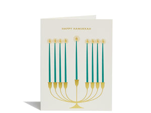 Menorah, Boxed Set of 8