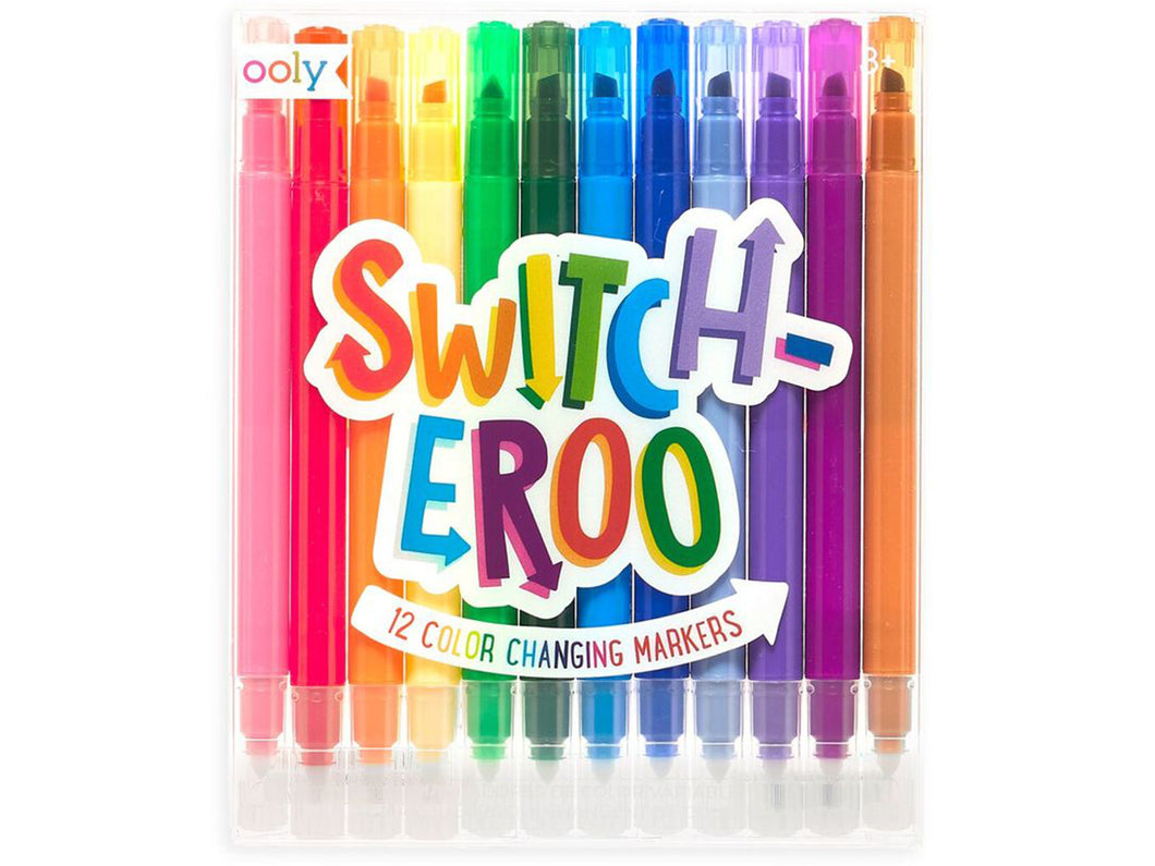 Switch-eroo! Color-Changing Markers