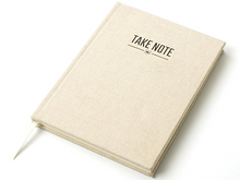 """Take Note"" Linen Planner"