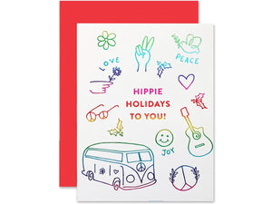 Hippie Holiday, Single Card