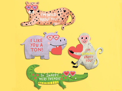 Valentine's Day Loveable Animal Kit