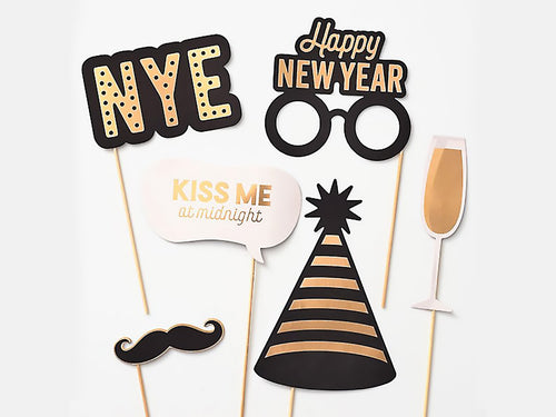 New Years Eve Photo Props Kit
