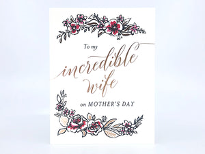 Incredible Wife, Single Cards