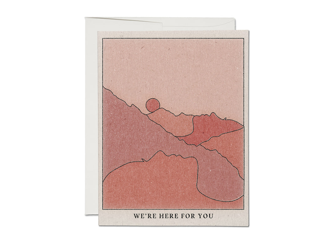 We're Here Mountains, Single Card